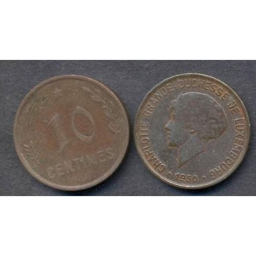 LUXEMBOURG 10 Centimes 1930