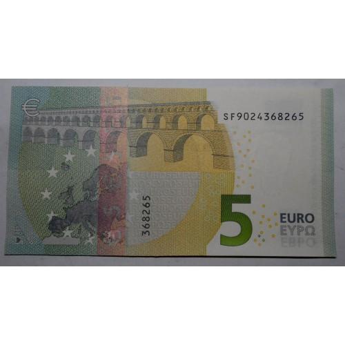 5 EURO con striscia...