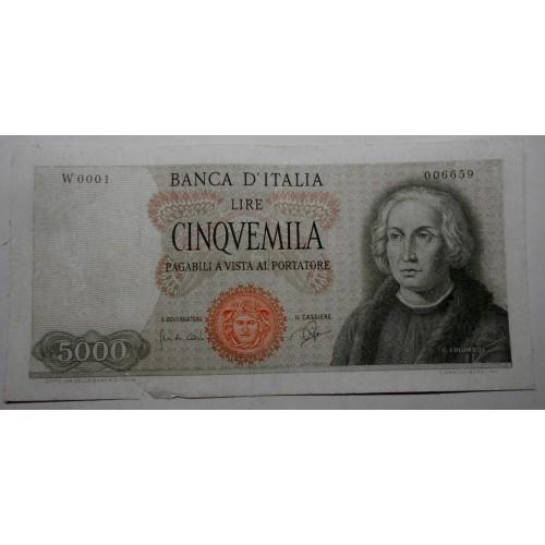 5000 Lire 1964 1 Caravella...