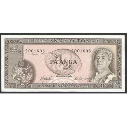 TONGA 1/2 Pa'anga 1967