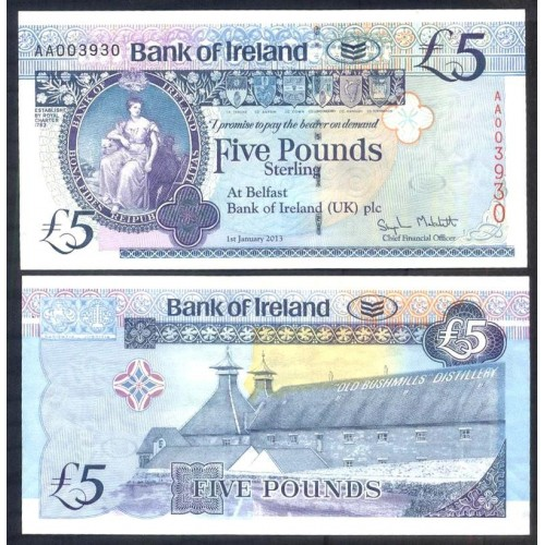 NORTHERN IRELAND 5 Pounds...