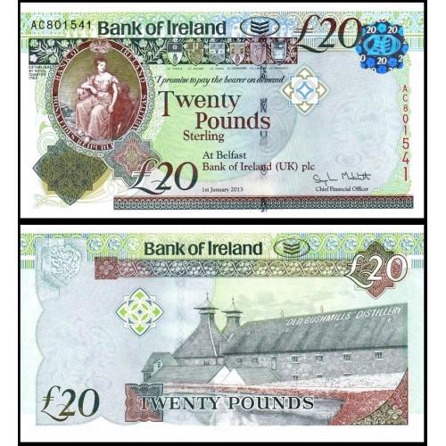 NORTHERN IRELAND 20 Pounds...