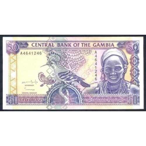 GAMBIA 50 Dalasis 1996
