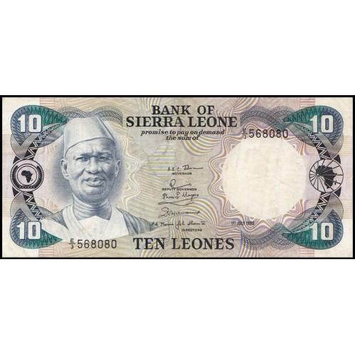 SIERRA LEONE 10 Leones 1980