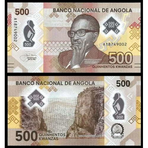 ANGOLA 500 Kwanzas 2020...