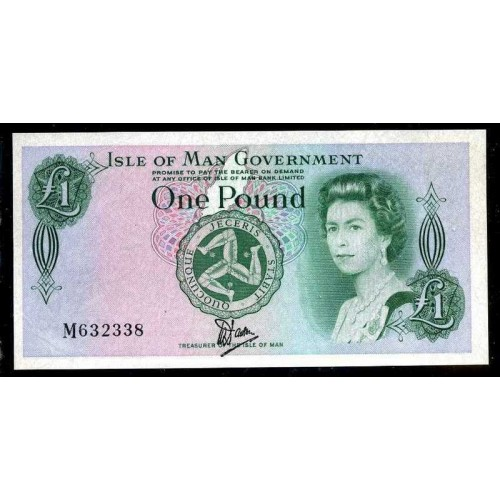 ISLE OF MAN 1 Pound 1983