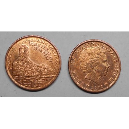 ISLE OF MAN 1 Penny 2002 AA