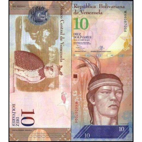 VENEZUELA 10 Bolivares 2013