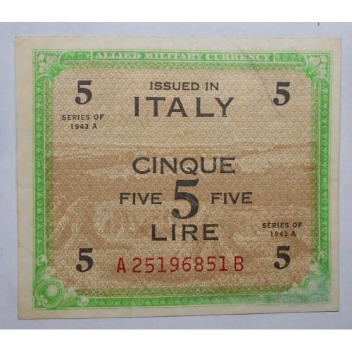 5 AM LIRE BILINGUE 1943...