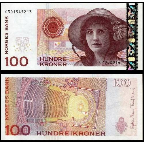 NORWAY 100 Kroner 2014