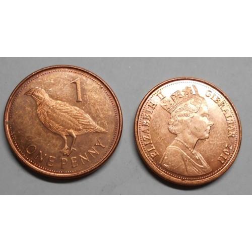 GIBRALTAR 1 Penny 2011
