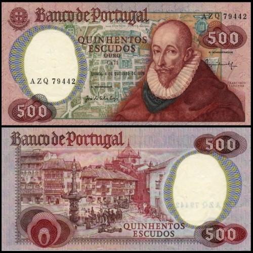 PORTUGAL 500 Escudos 1979