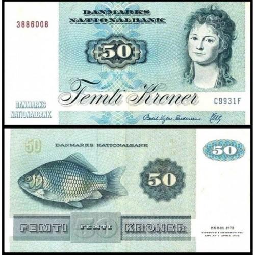 DENMARK 50 Kroner 1993