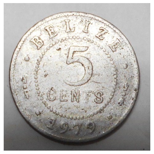 BELIZE 5 Cents 1979