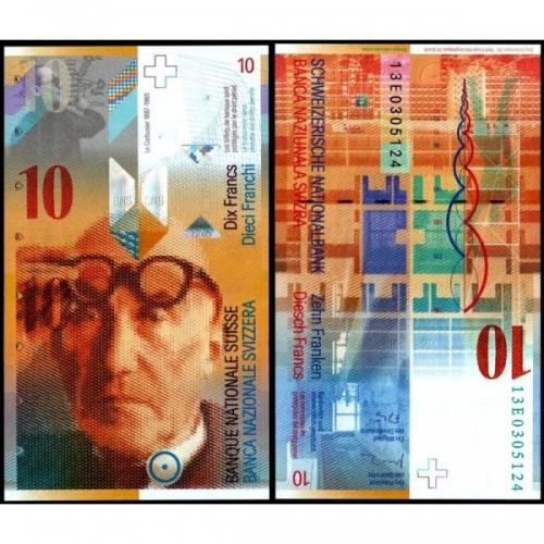 SWITZERLAND 10 Franken 2013