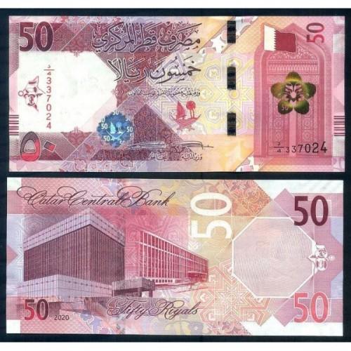 QATAR 50 Riyals 2020