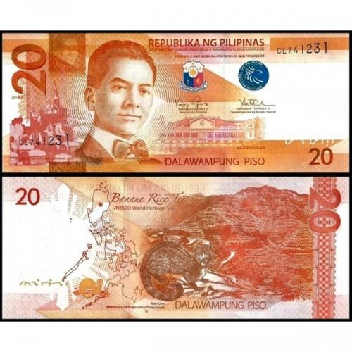 PHILIPPINES 20 Piso 2016J