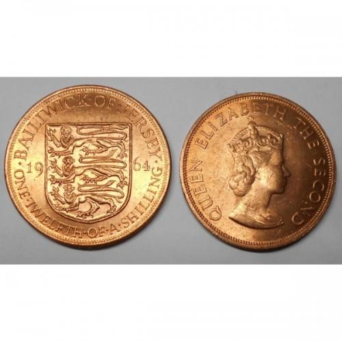 JERSEY 1/12 Shilling 1964