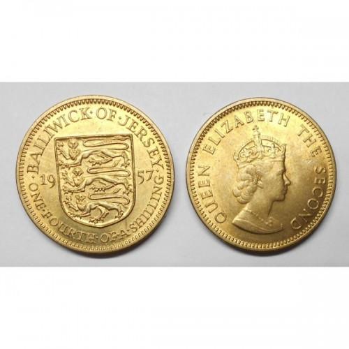 JERSEY 1/4 Shilling 1957
