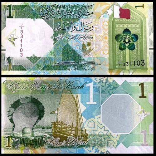 QATAR 1 Riyal 2020