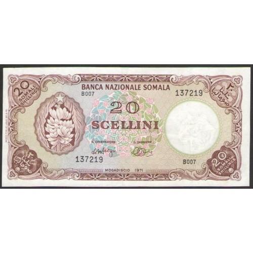 SOMALIA 20 Scellini - 20...