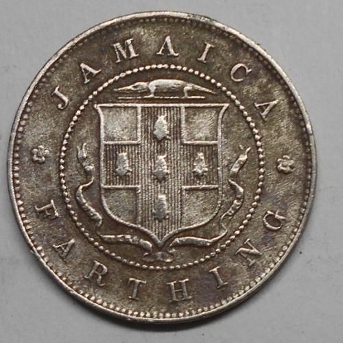 JAMAICA 1 Farthing 1928