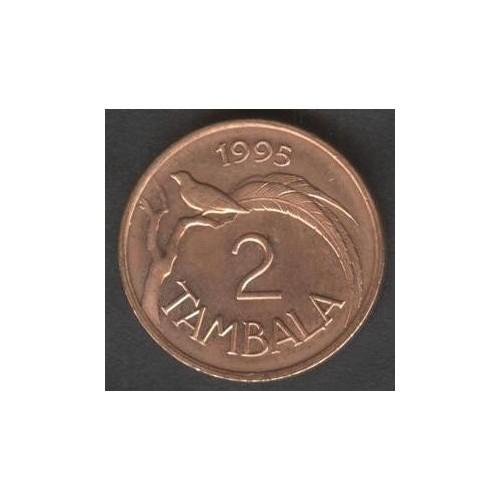 MALAWI 2 Tambala 1995