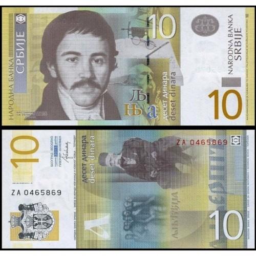 SERBIA 10 Dinara 2013...