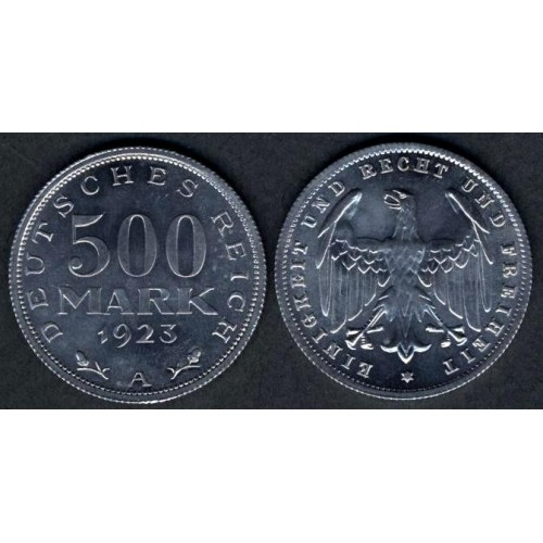 GERMANY WEIMAR REPUBLIC 500...