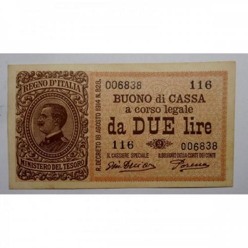 2 Lire 14.3.1920