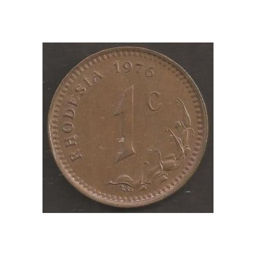 RHODESIA 1 Cent 1976