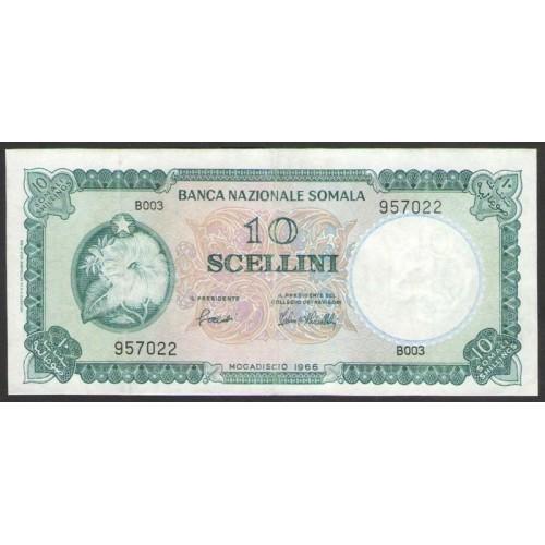 SOMALIA 10 Scellini 1966