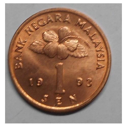 MALAYSIA 1 Sen 1993