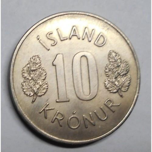 ICELAND 10 Kronur 1970
