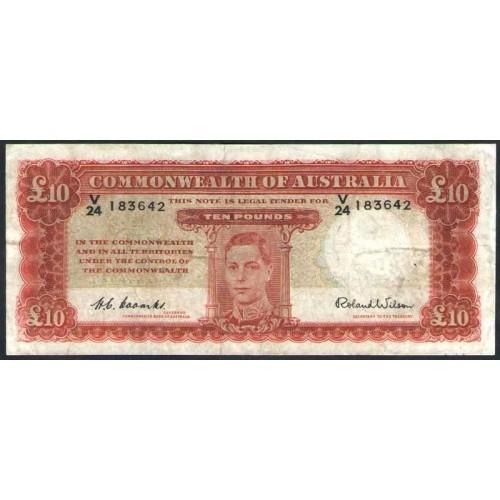AUSTRALIA 10 Dollars 1940