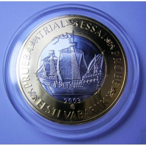 ESTONIA 1 Euro 2003...