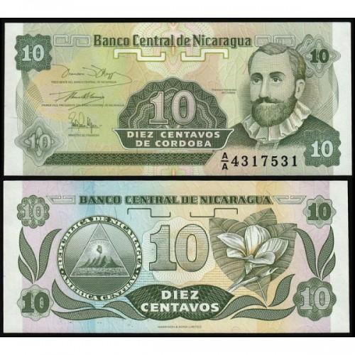 NICARAGUA 10 Centavos 1991