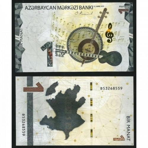 AZERBAIJAN 1 Manat 2020 (2021)