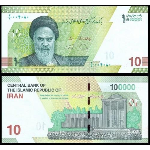 IRAN 100.000 Rials 2021