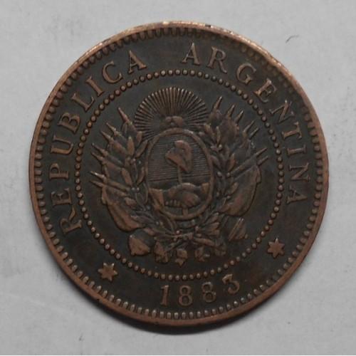 ARGENTINA 1 Centavo 1883