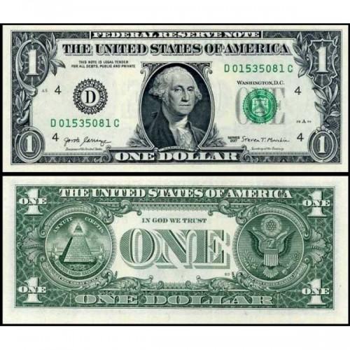 USA 1 Dollar 2017 Series D