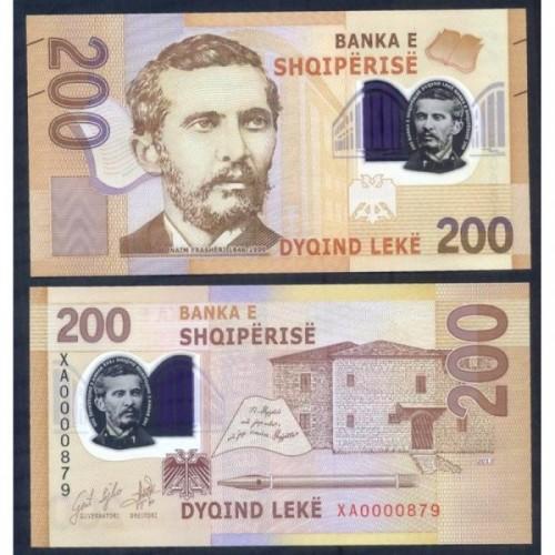 ALBANIA 200 Leke 2017...