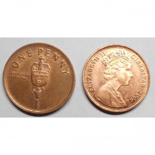 GIBRALTAR 1 Penny 2006