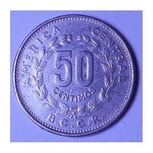 COSTA RICA 50 Centimos 1984