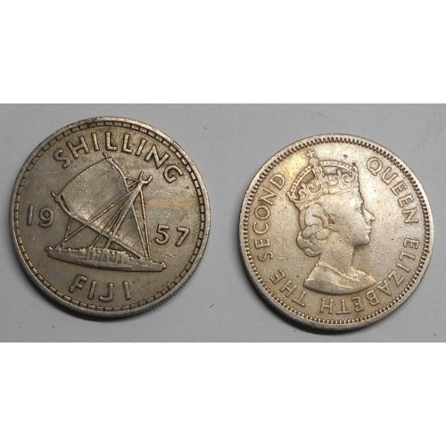 FIJI 1 Shilling 1957
