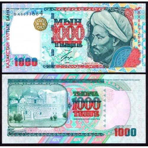 KAZAKHSTAN 1000 Tenge 2000