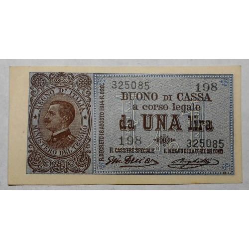 1 Lira 1917 Buono di Cassa