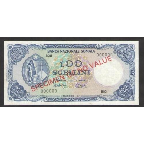 SOMALIA 100 Scellini 1971...