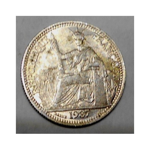 FRENCH INDOCHINA 10 Cents...