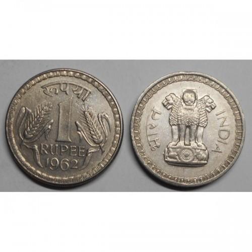 INDIA 1 Rupee 1962 C